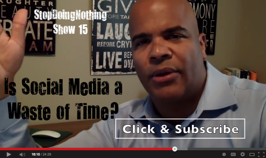 Show 15 - Is Social Media A Waste Of Time?