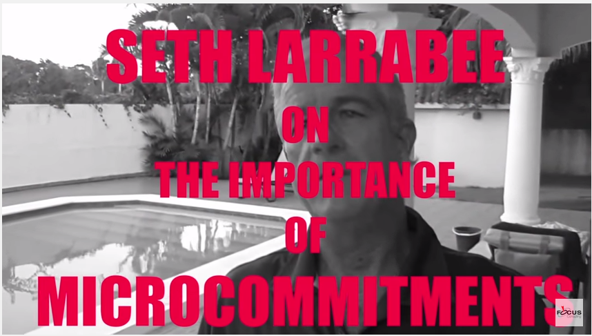 The importance of microcommitments